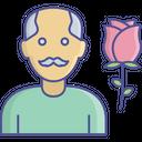 Admirations Fathers Day Grandpa Icon