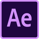 Adobe Aftereffects Technology Logo Social Media Logo Icon