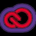 Adobe Creativecloud Technology Logo Social Media Logo Icon