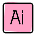 Adobe Illustrator Technology Logo Social Media Logo Icon