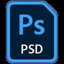 Adobe Photoshop File Psd File Icon