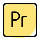 Adobe Premiere Technology Logo Social Media Logo Icon