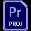 Adobe Premiere Pro File Pr Proj Icon