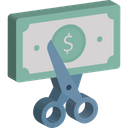 Advertisement Cut Price Sale Icon