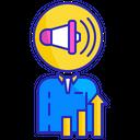 Advertising Sales Director Icon