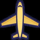 Aeroplane Airbus Airplane Icon