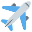 Aeroplane Airplane Plane Icon