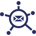 Affiliate Email Marketing Icon