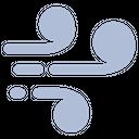 Air Air Flow Air Direction Icon