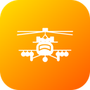 Air Apache Army Icon