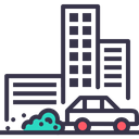 Air Pollution Smart Icon