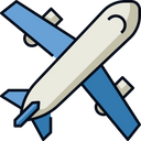 Airplane Loading Shipping Icon