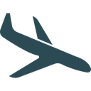 Aircraft Landing Airplane Airport Icon