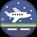 Airport Airplane Flight Icon