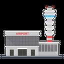 Airport Aerodrome Airdrome Icon