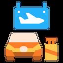 Airport Transfer Service Icon