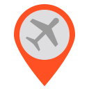 Airport location Icon