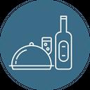Alcohol Food Champgne Icon
