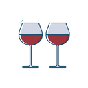 Alcohol Glass Drink Icon