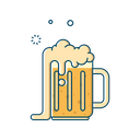 Alcohol Glass Mug Icon