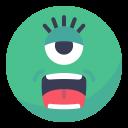 Alien Eye Face Icon