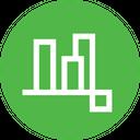 Align Bottom Edges Icon
