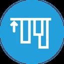 Align Top Edges Icon