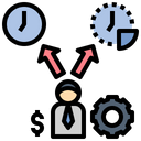 Alternative Working time Icon