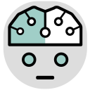 Amazon Artificial Intelligence Icon