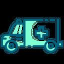 Ambulance Car Truck Icon