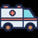 Ambulance Emergency Vehicle Medical Transporation Icon
