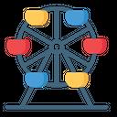 Amusement Park Circus Icon