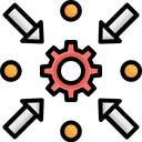 Analysis Analytics Arrows Icon