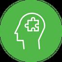 Analytical Thinking Puzzle Icon