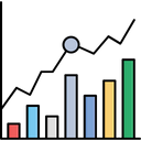 Analytics Chart Market Icon