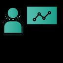 Presentation Analysis Growth Icon