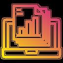 Files Laptop Computer Icon
