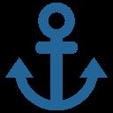 Anchor Ship Tool Icon