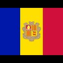 Andorra Flag Country Icon
