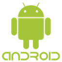 Android Plain Wordmark Icon