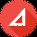 Angle Compass Geometry Icon