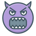 Angry Evil Hatred Icon