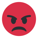 Angry Face Mad Icon