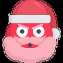 Angry Santa Icon