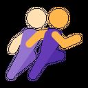 Animation Cartoon Jogging Icon