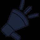 Announcement Bullhorn Horn Icon