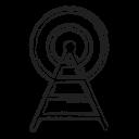 Radio Signal Broadcast Icon