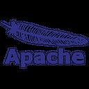 Apache Line Wordmark Icon