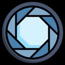 Aperture Camera Lens Icon