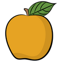Apple Health Healthy Diet Icon